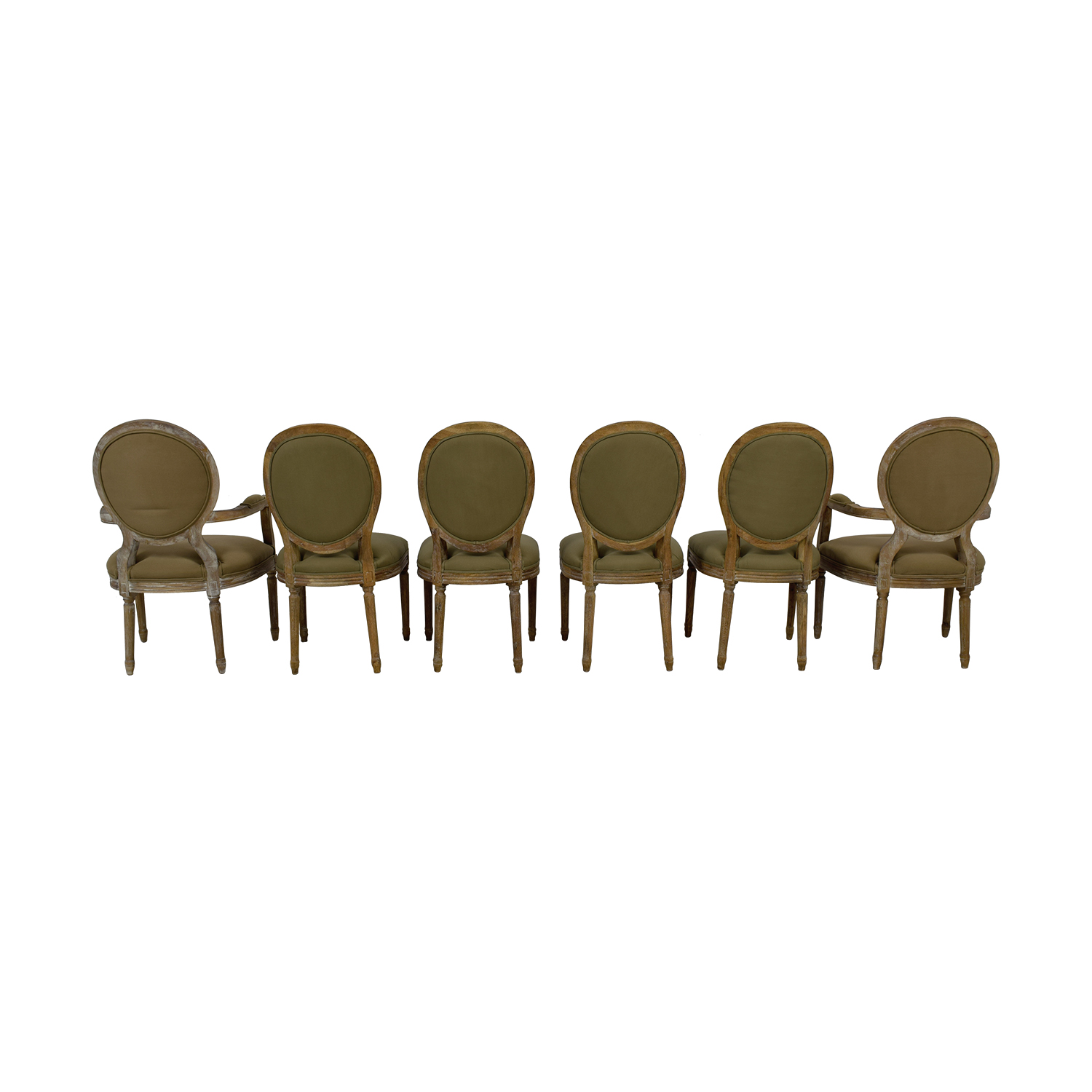 shop Horchow Blanchette Tufted Side Chairs and Arm Chairs Horchow Dining Chairs