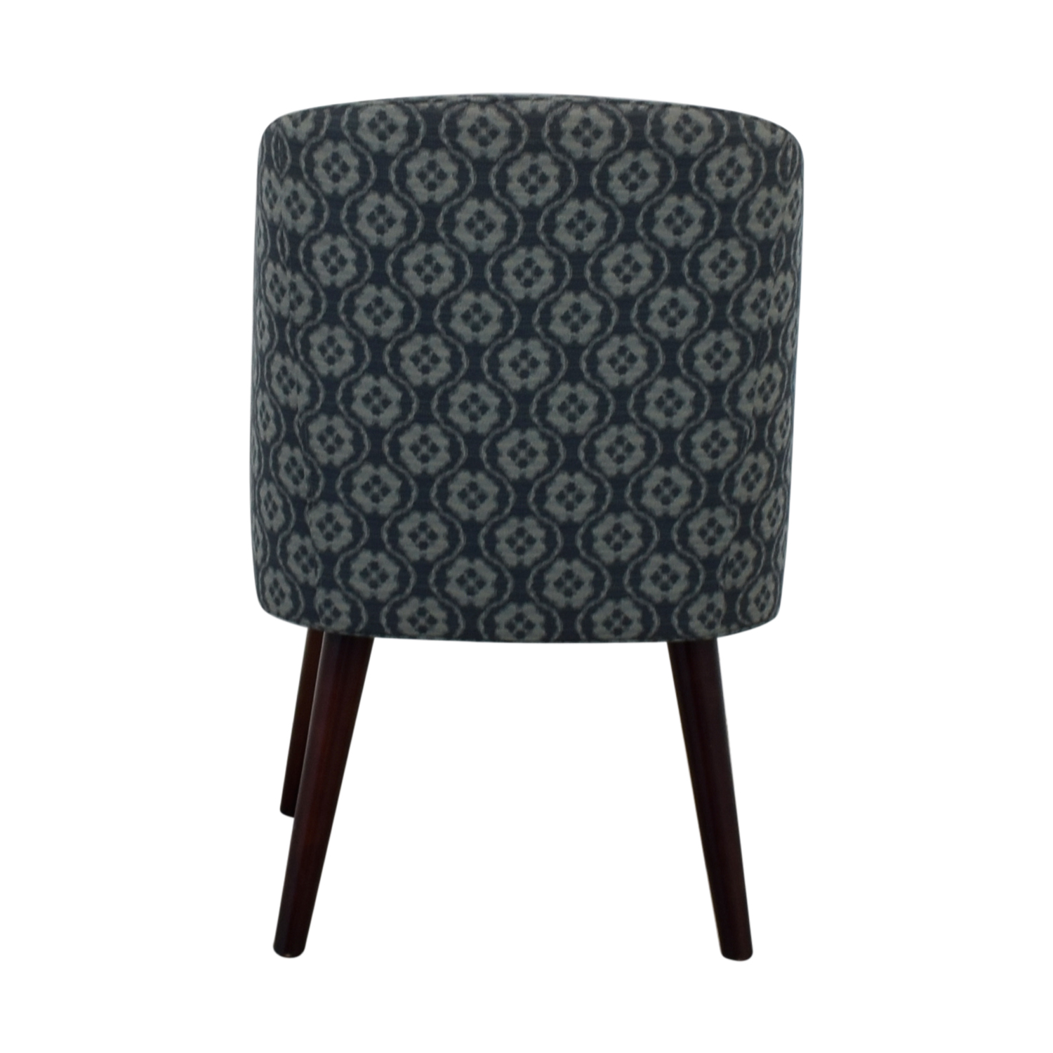 buy Patterned Blue Accent Chair  Chairs