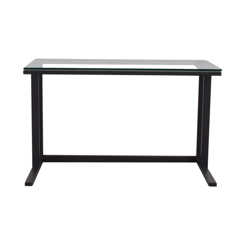 Crate & Barrel Crate & Barrel Pilsen Graphite Desk Tables