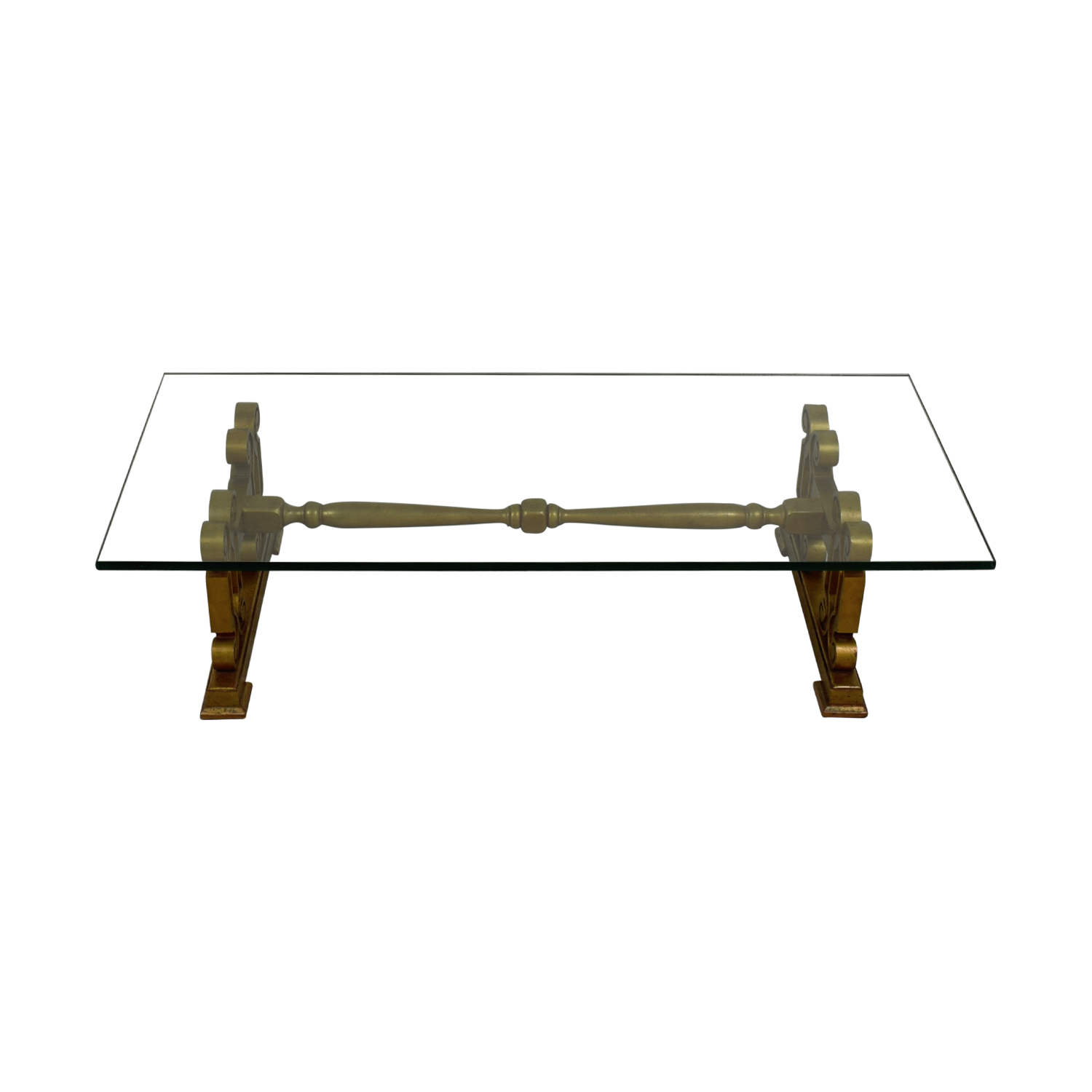 Antique Glass Coffee Table price