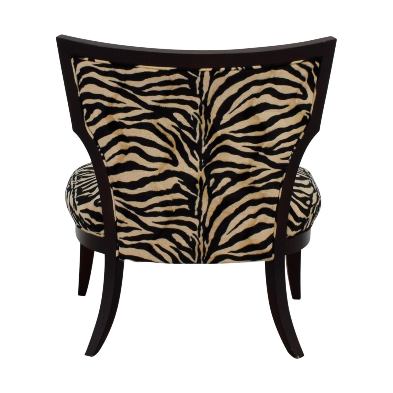 81 Off Z Gallerie Z Gallerie Zebra Chair Chairs