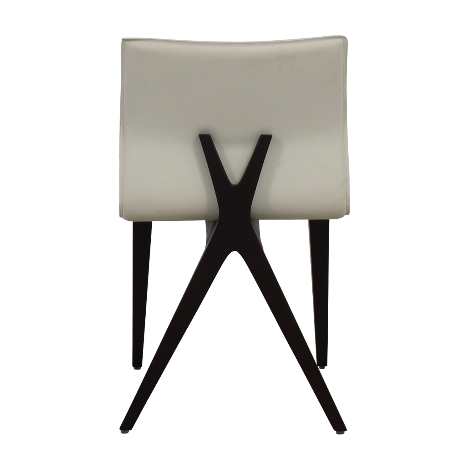 Cliff Young Cliff Young X-Back White Leather Chair on sale