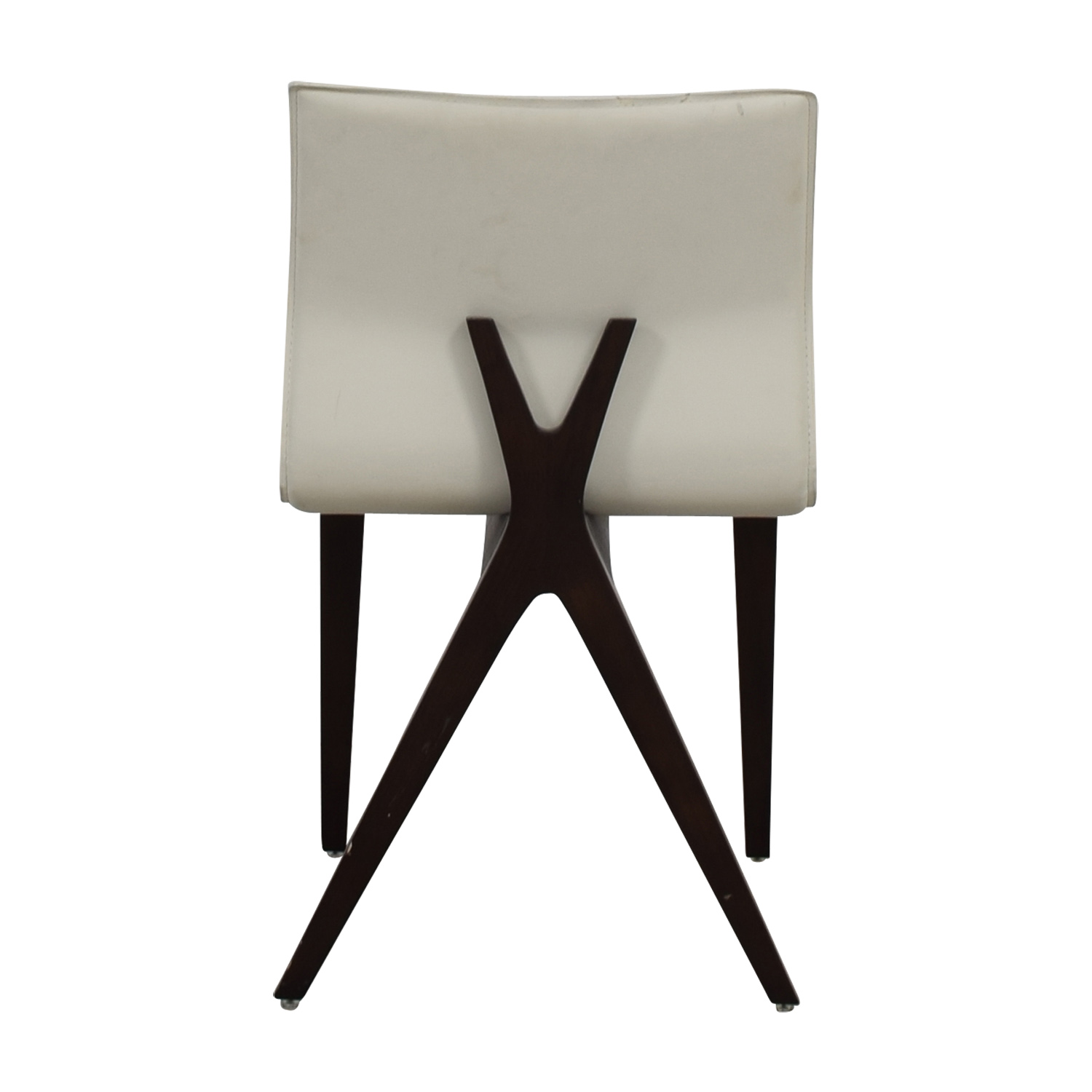buy Cliff Young Cliff Young X-Back White Leather Chair online