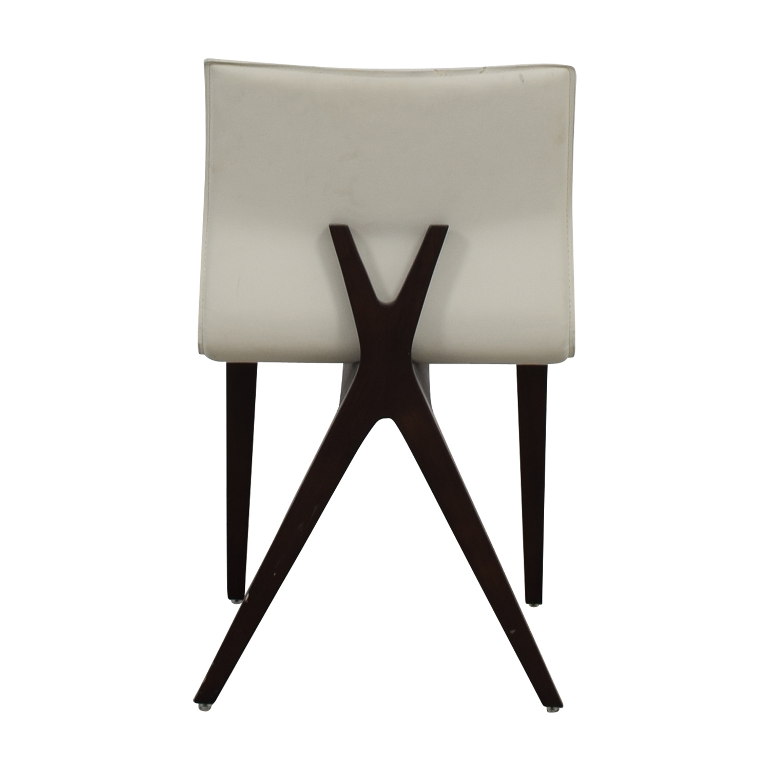 Cliff Young X-Back White Leather Chair / Sofas