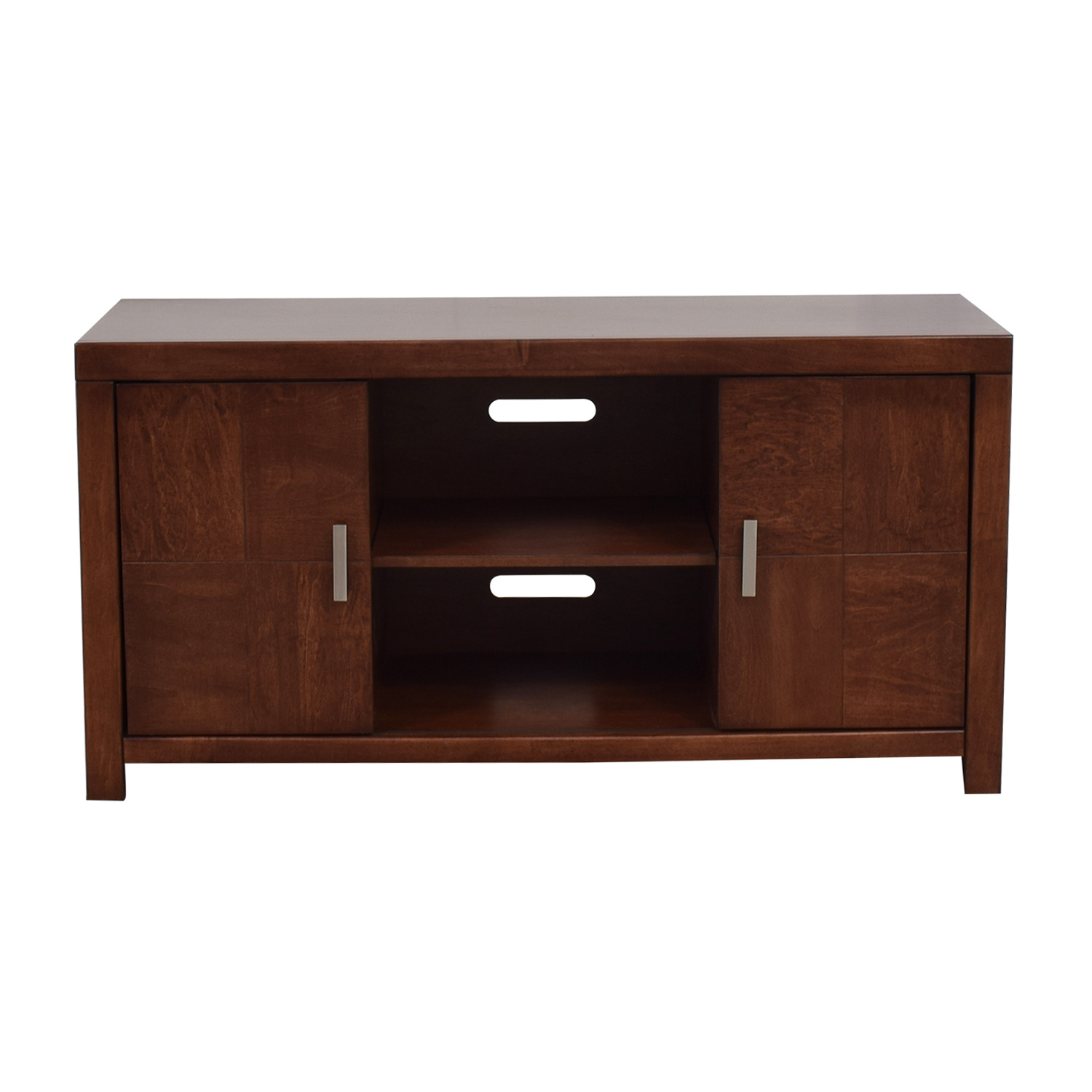 Raymour & Flanigan Raymour & Flanigan Cinnamon Maple Media Console price