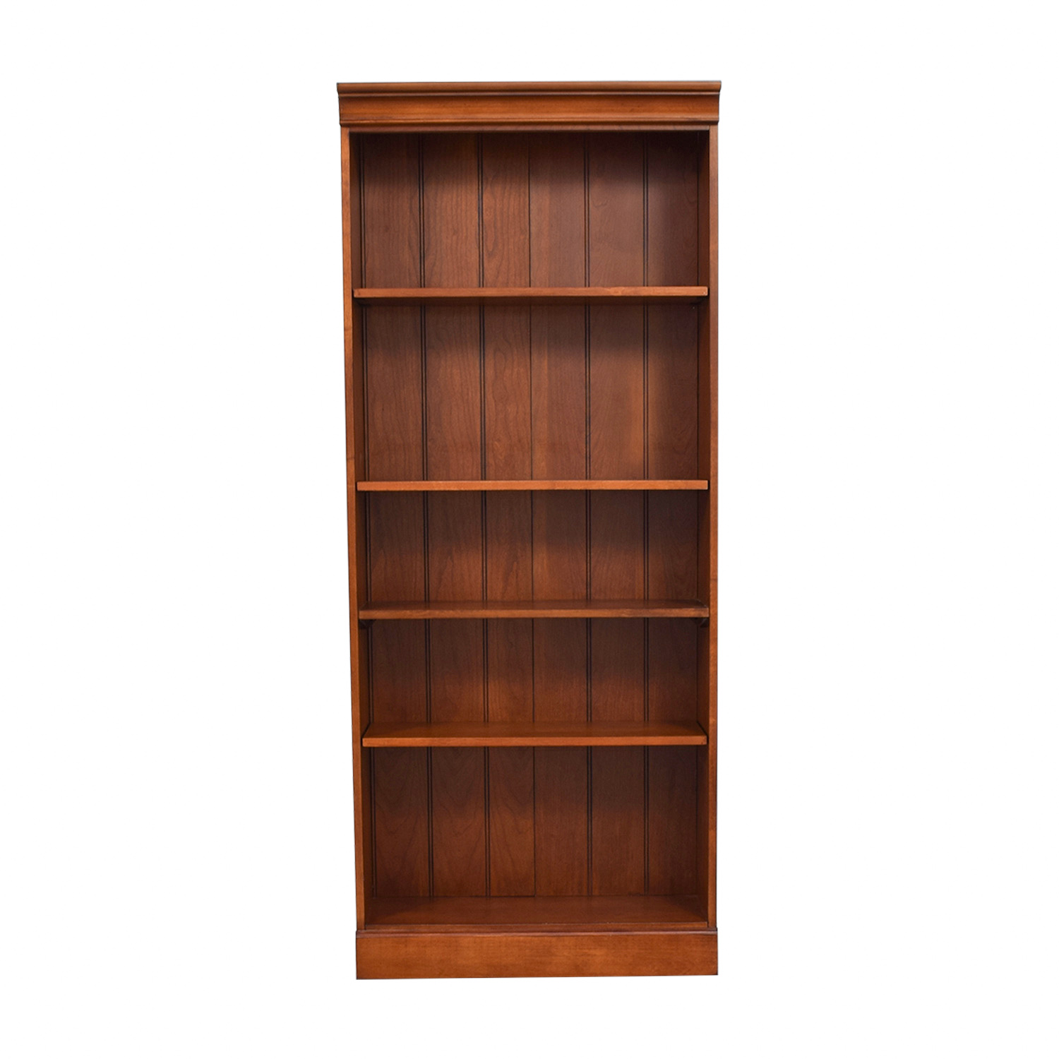 Raymour & Flanigan Five Shelf Bookcase sale