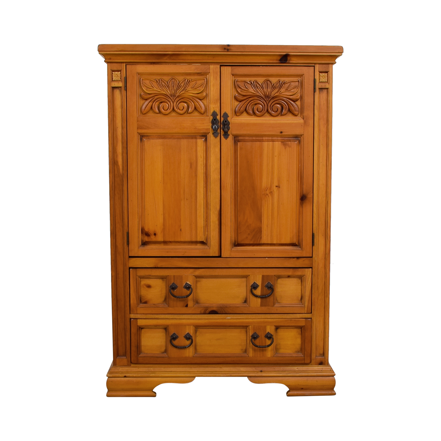 shop Broyhill Furniture Wood Armoir Broyhill Furniture