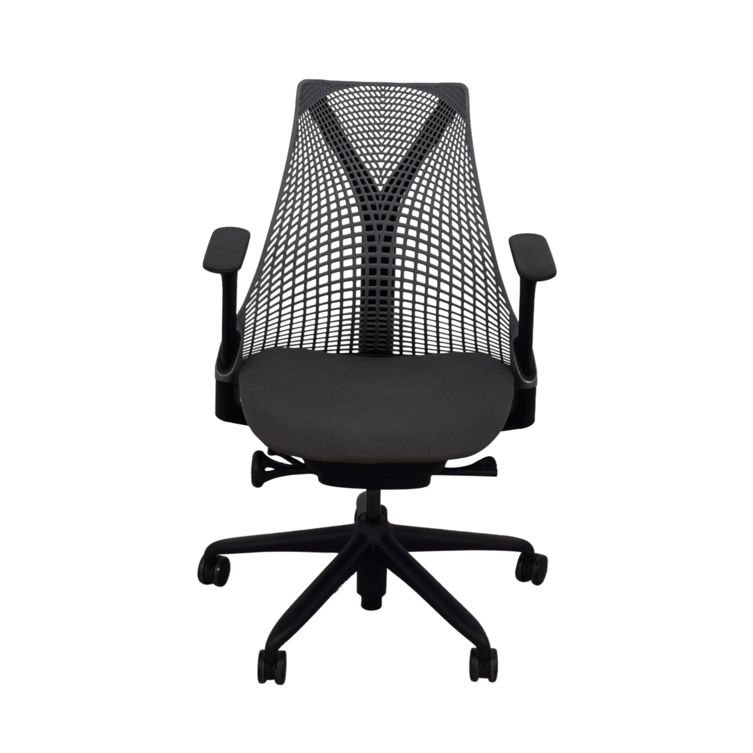 Herman Miller Slate Grey and Black Sayl Chair / Home Office Chairs