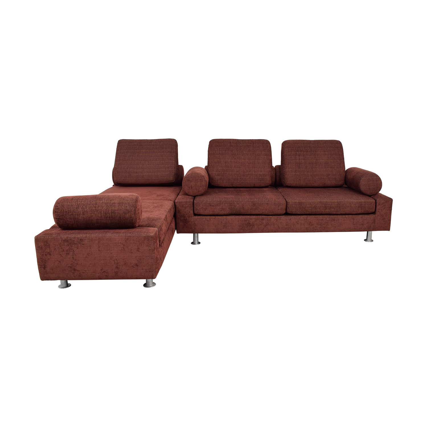78% OFF - Shermag Normand Couture for Shermag Cameleon Convertible Sofa /  Sofas
