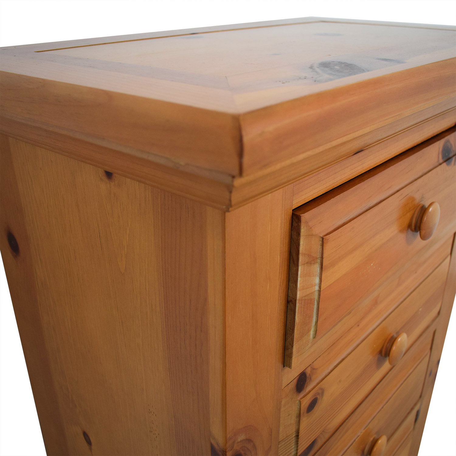 shop Broyhill Pine Six-Drawer Lingerie Chest Broyhill Storage
