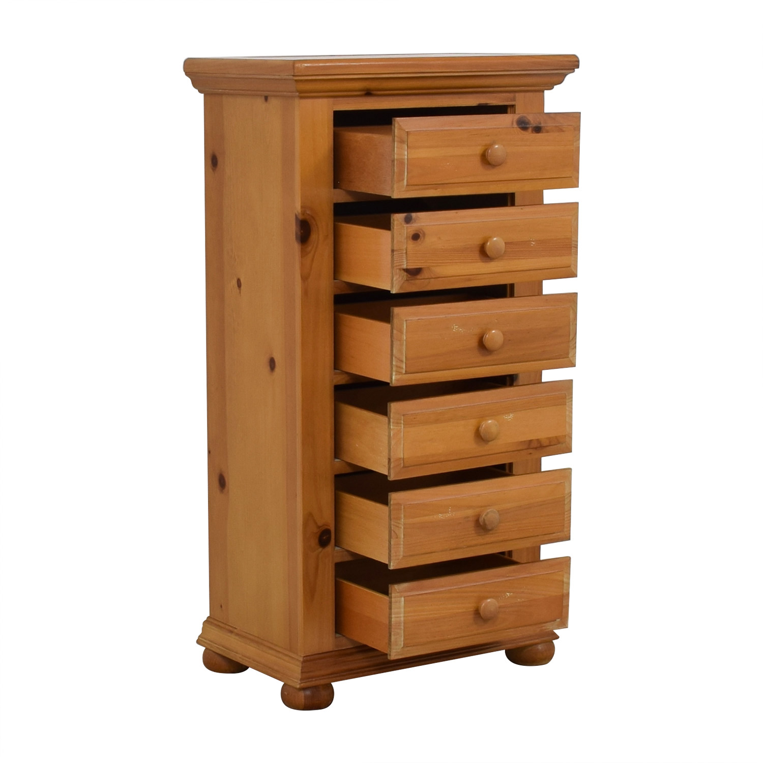 Broyhill Broyhill Pine Six-Drawer Lingerie Chest