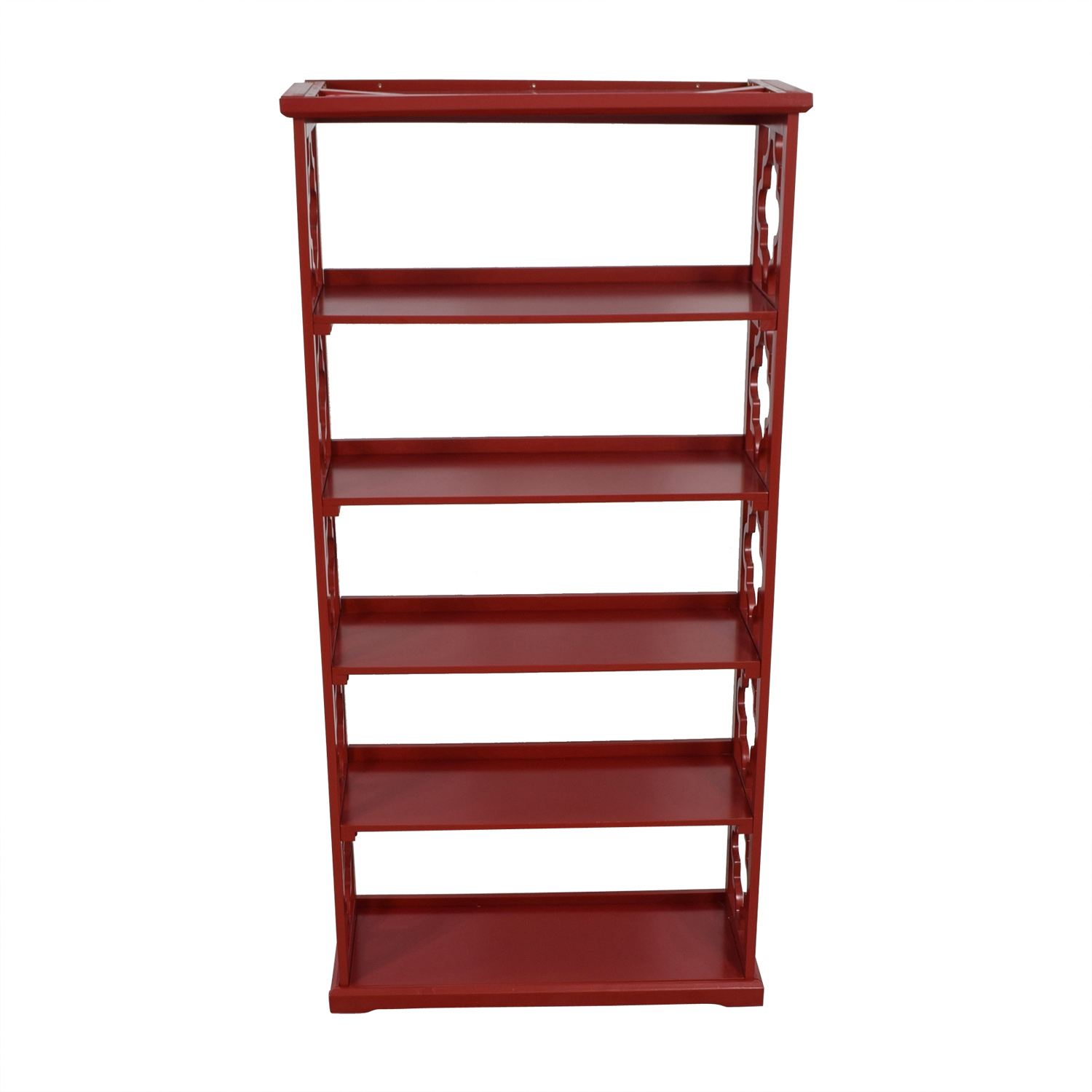 Red Etagere Bookcase sale