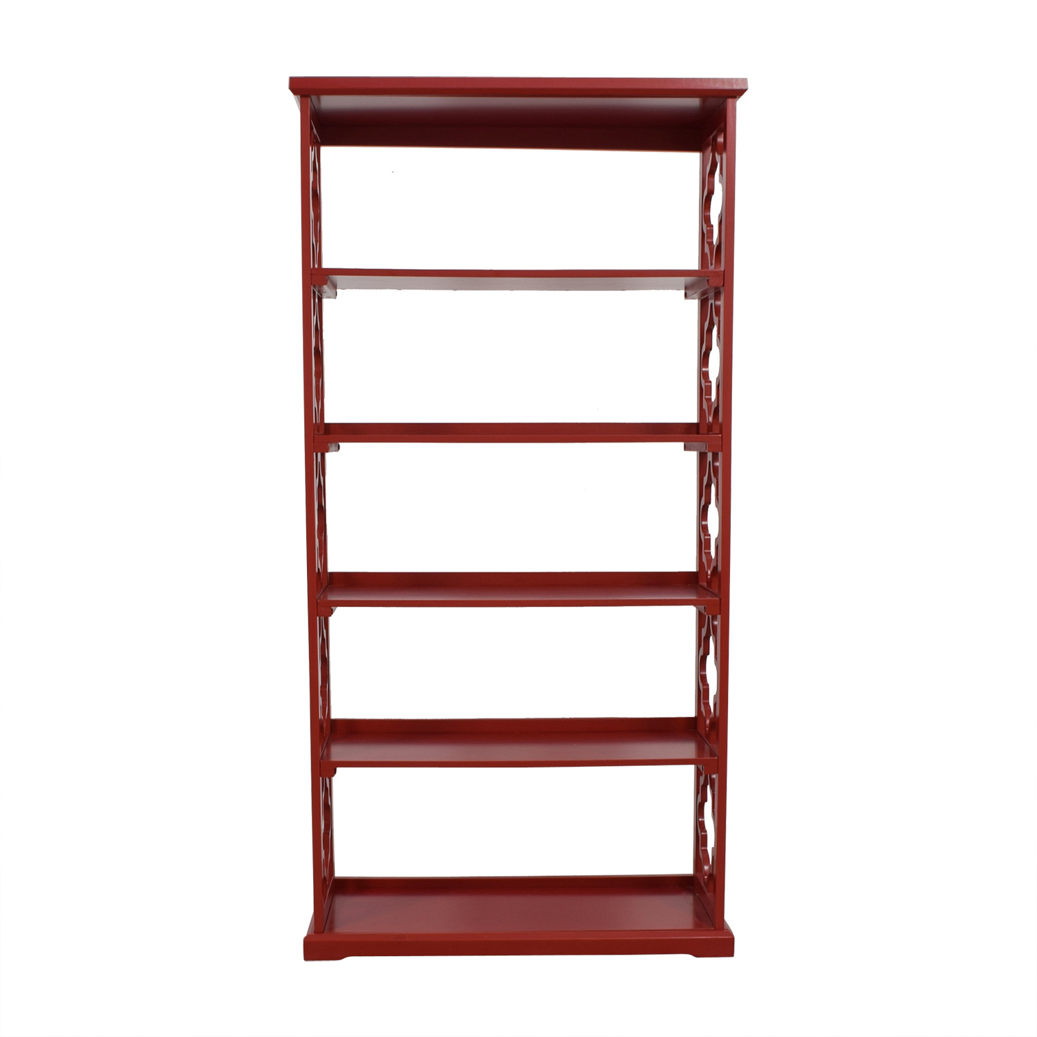 Red Etagere Bookcase / Bookcases & Shelving