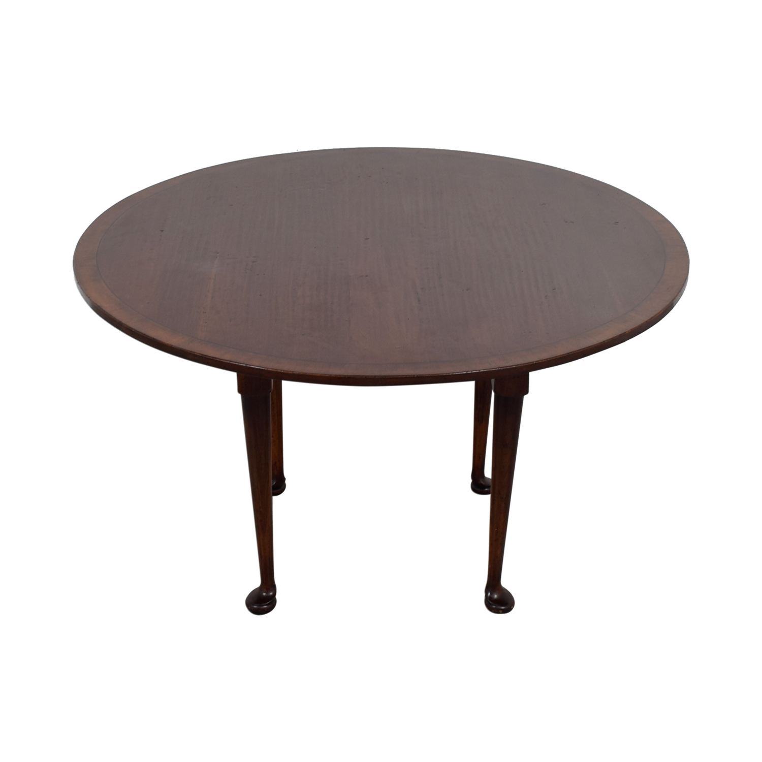 ... Custom Round Wood Dining Table Tables ...