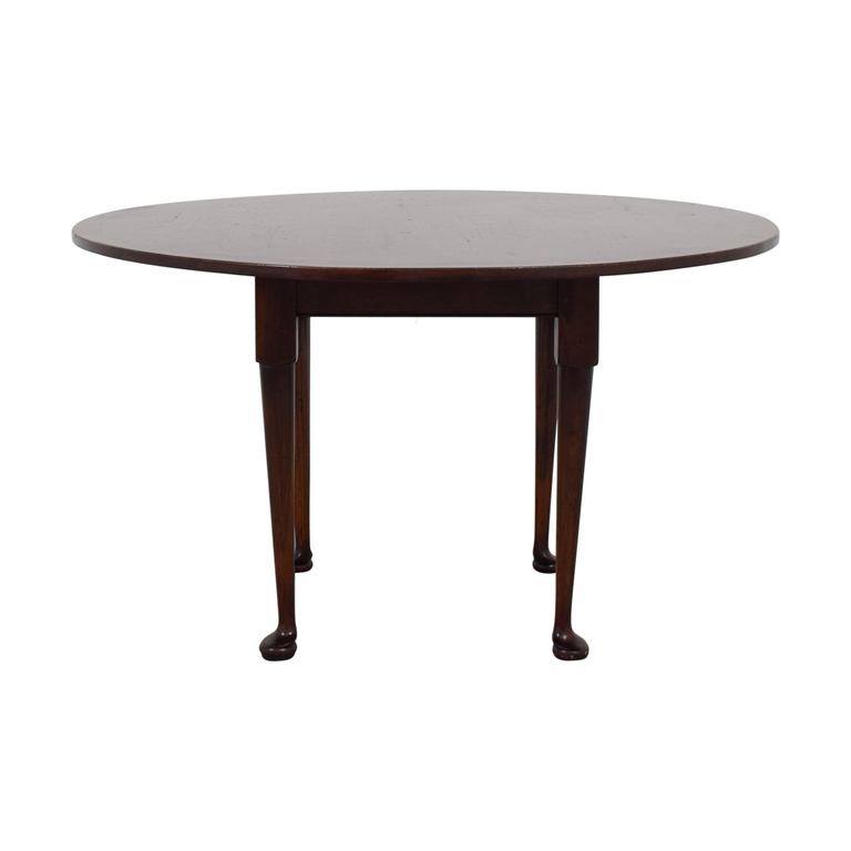 shop Custom Round Wood Dining Table