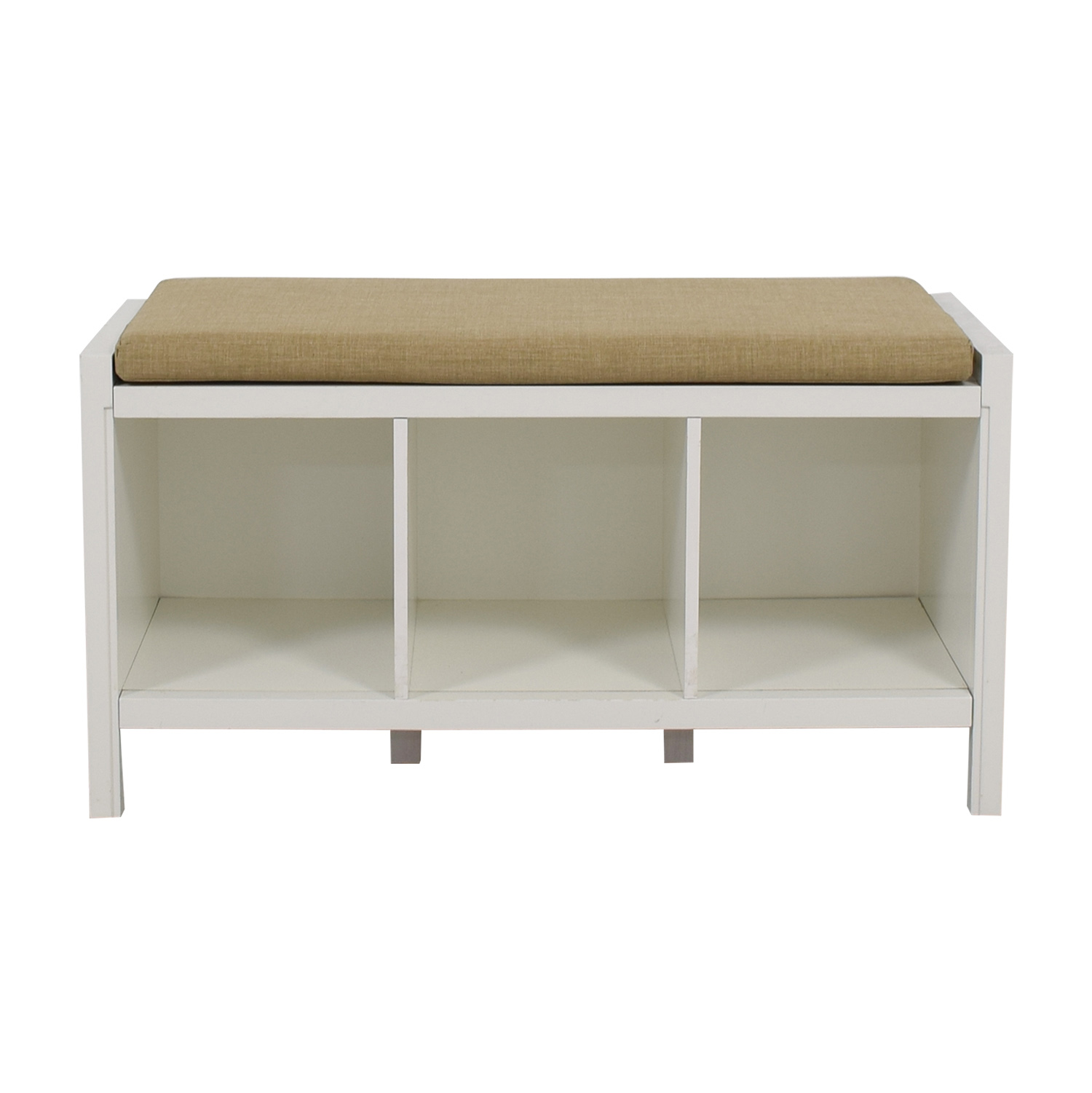 Container Store Container Store Entry Way Storage Bench dimensions