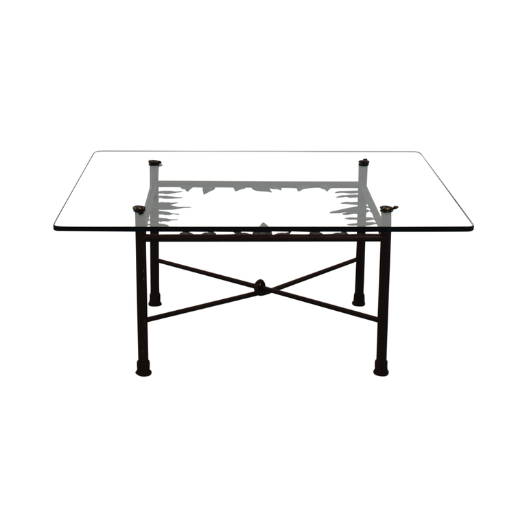 ABC Carpet & Home ABC Carpet & Home Glass Coffee Table price