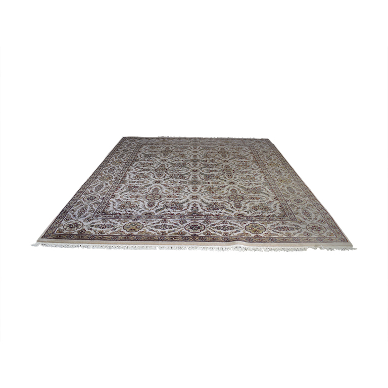 Abu Rugs and Home Beige Oriental Rug Abu Rugs & Home