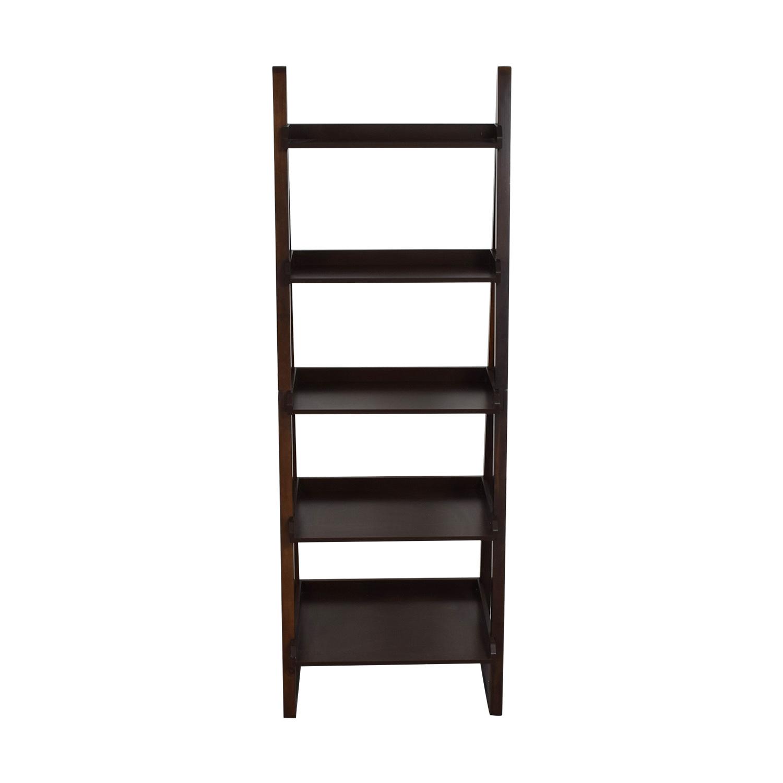 The Container Store Encore Walnut Narrow Bookshelf / Bookcases & Shelving