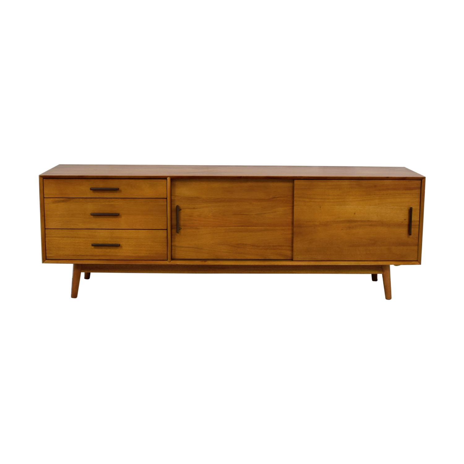 West Elm Mid-Century Media Console in Acorn / Media Units