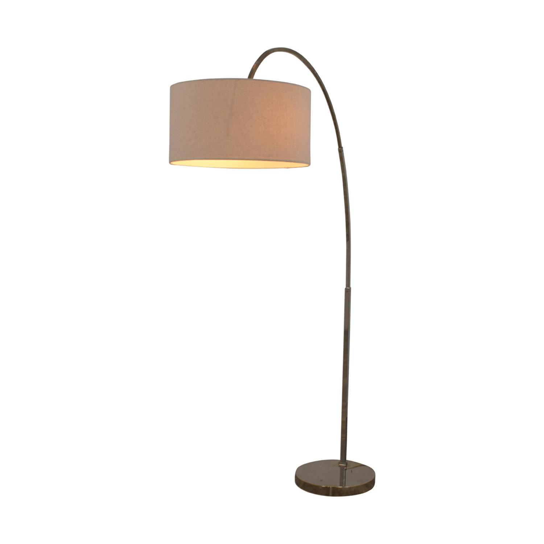 West Elm Lamp: West Elm West Elm Overarching Linen Shade Floor