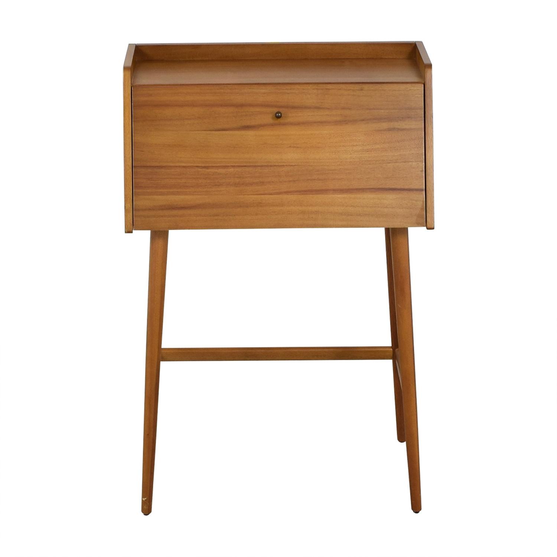 West Elm Mid Century Mini Secretary Desk sale