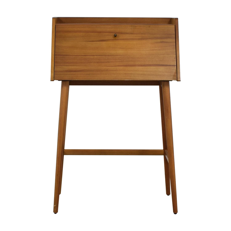 Picture of: 50 Off West Elm West Elm Mid Century Mini Secretary Desk Tables