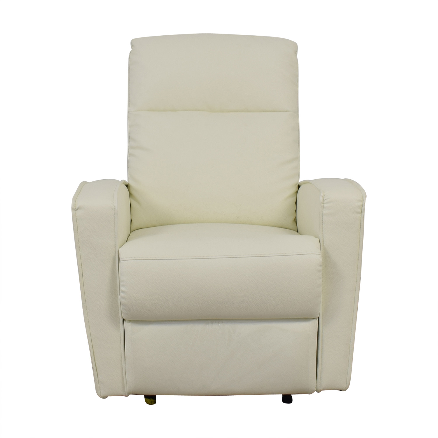 Modani Modani Helmi White Leather Lounge Recliner discount