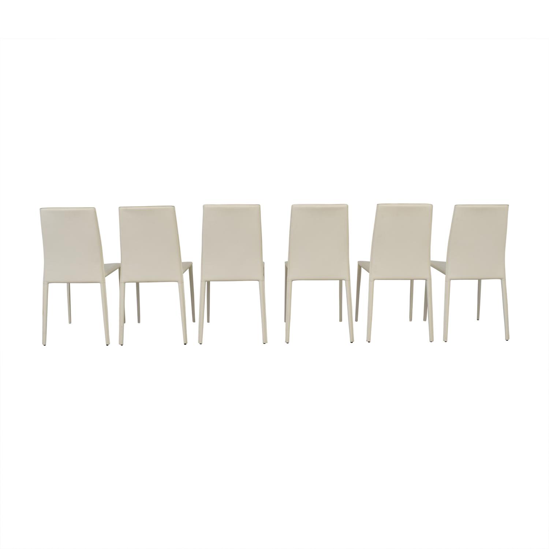 buy Modani Bellagio White Chairs Modani Chairs