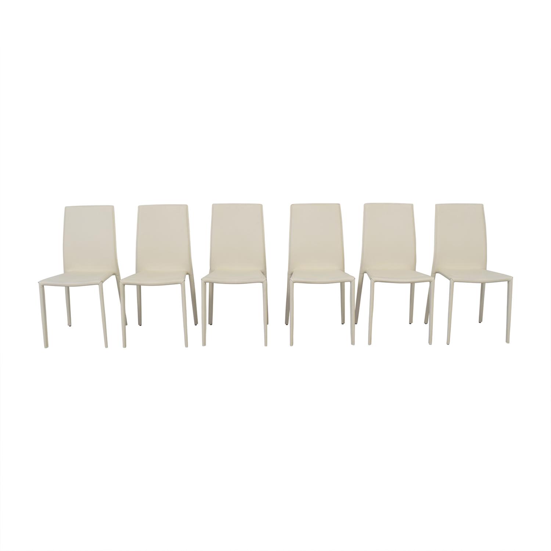 Modani Modani Bellagio White Chairs second hand