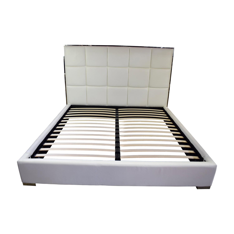 buy Modani Modani Giorgio Kind Bed White online