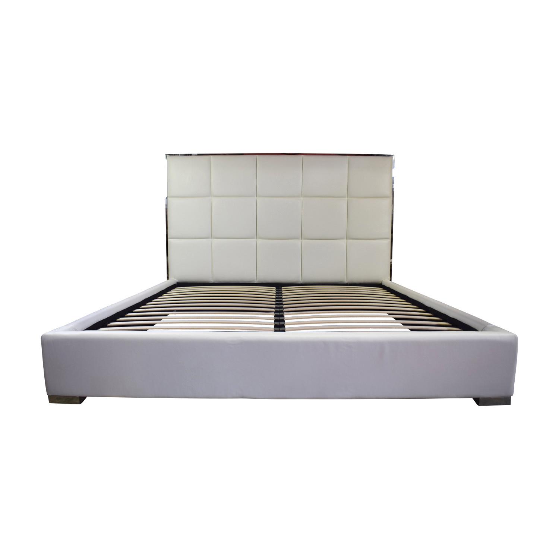 Modani Modani Giorgio Kind Bed White for sale