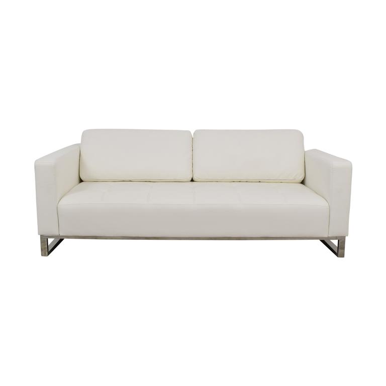 shop Modani Convertible Eco White Nelson Sofa Modani