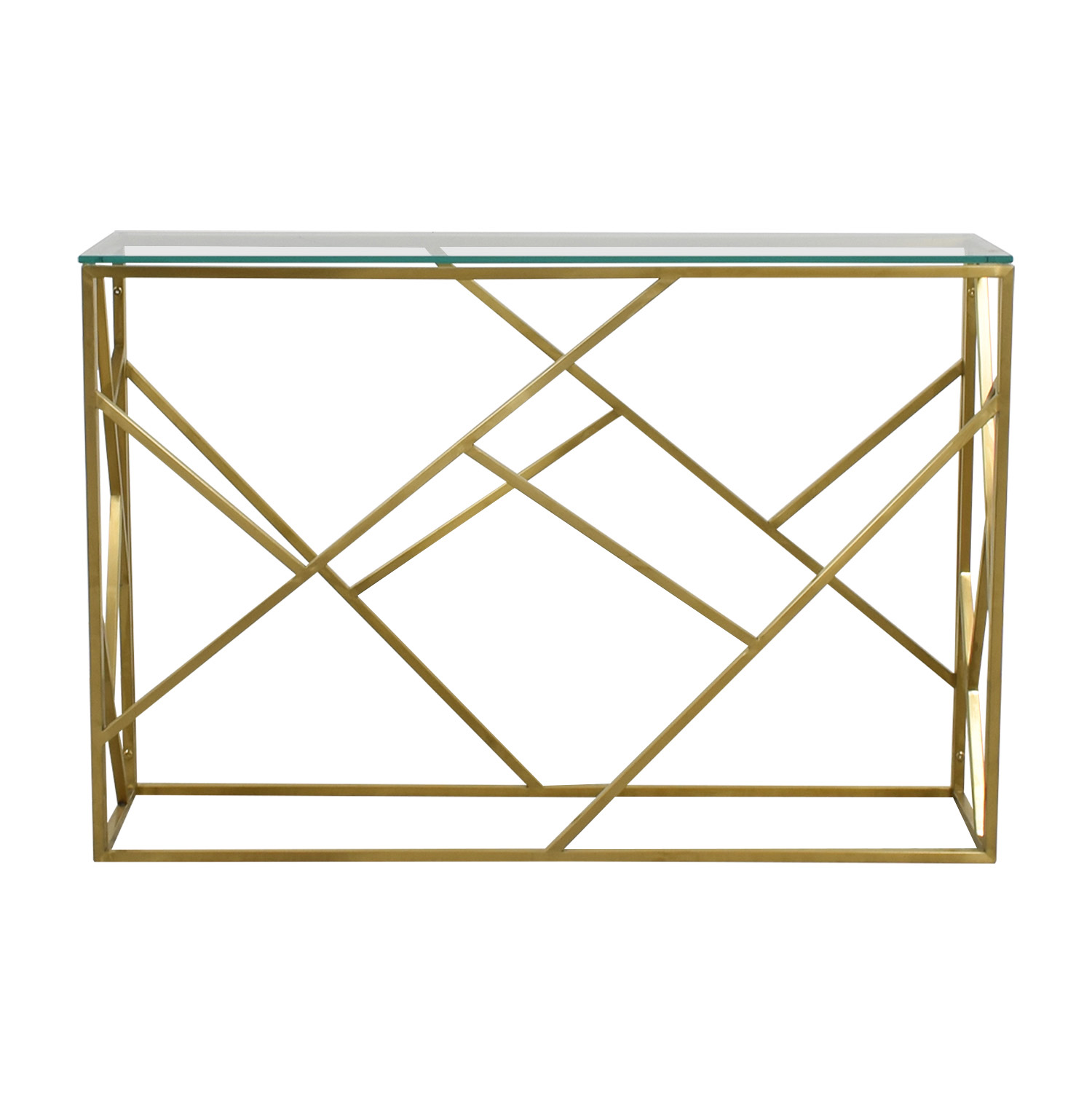 Modani Modani Arago Gold Console Table used