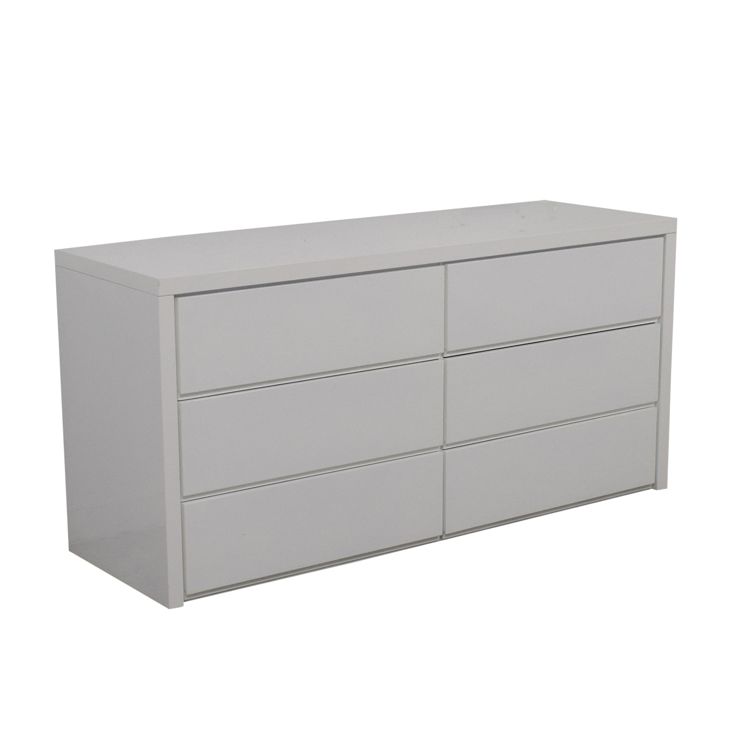 Modani Modani Dino White Six-Drawer Dresser for sale