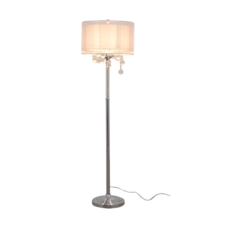 Moiselle Moiselle Crystal Floor Lamp nyc