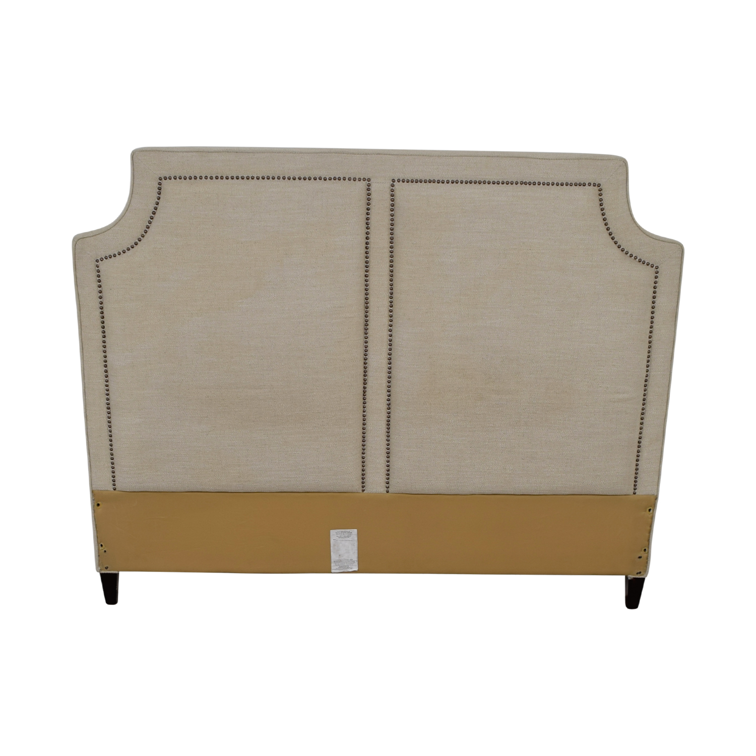 Thomasville Thomasville Beige Nailhead King Headboard coupon