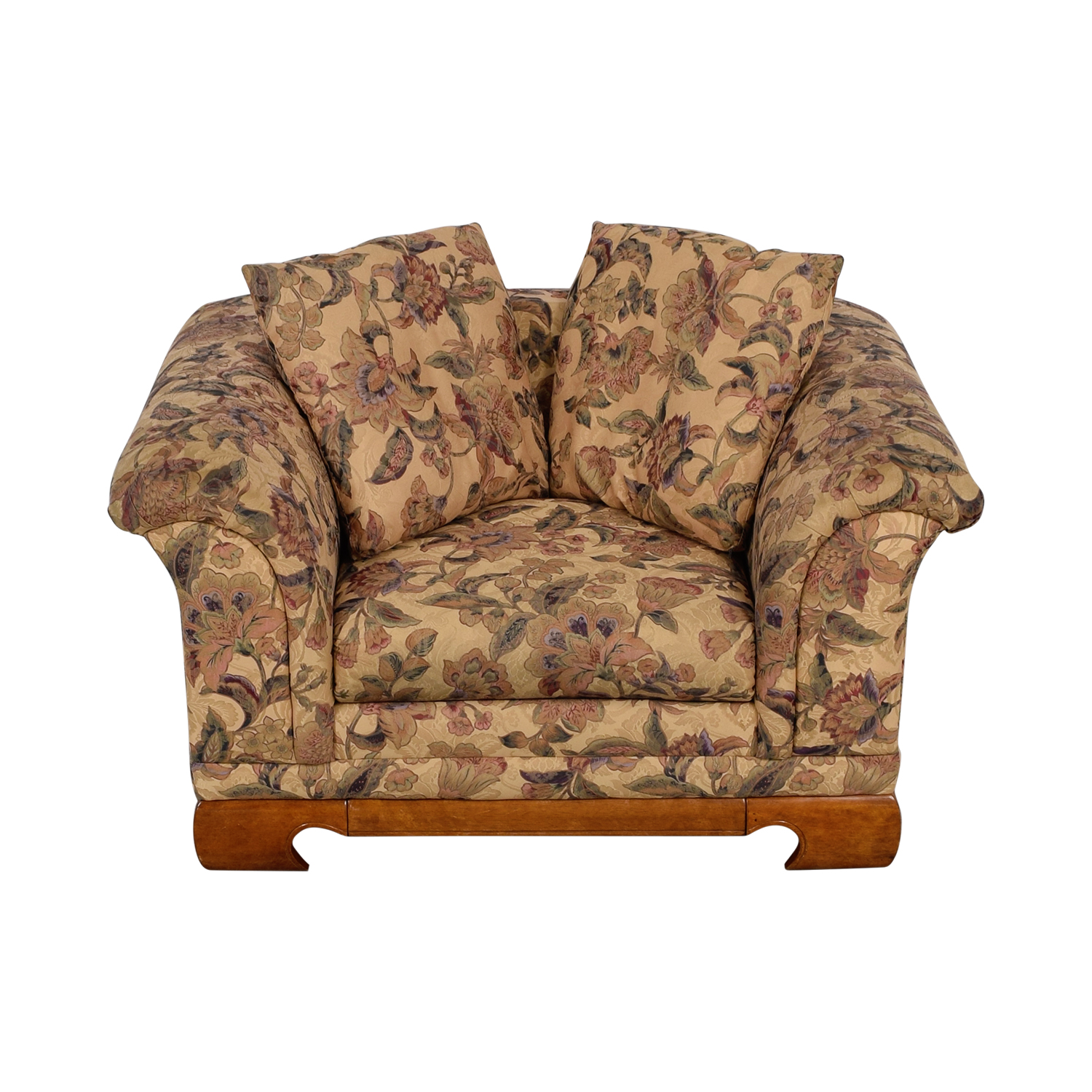 Sealy Furniture Floral Print Accent Chair sale