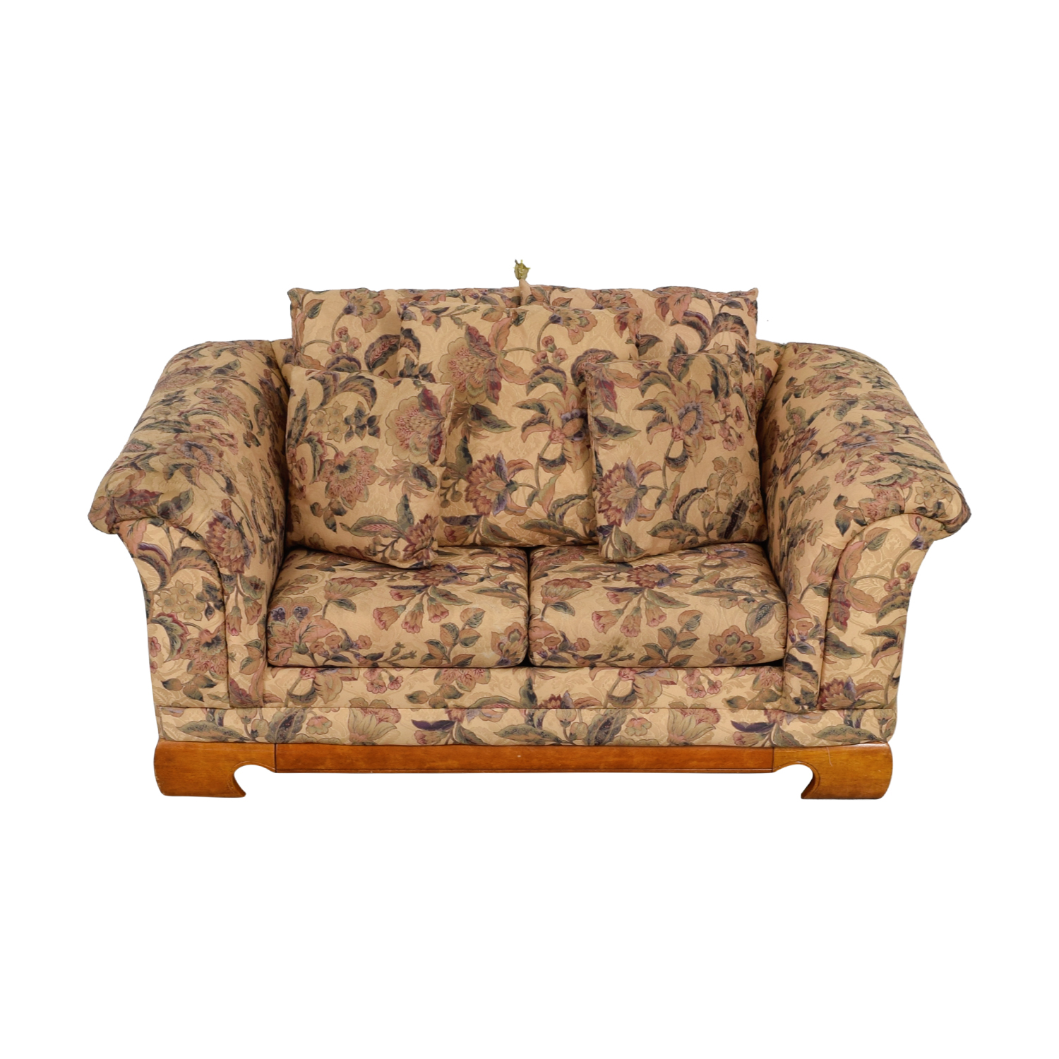 Sealy Furniture Sealy Furniture Floral Two-Cushion Loveseat for sale