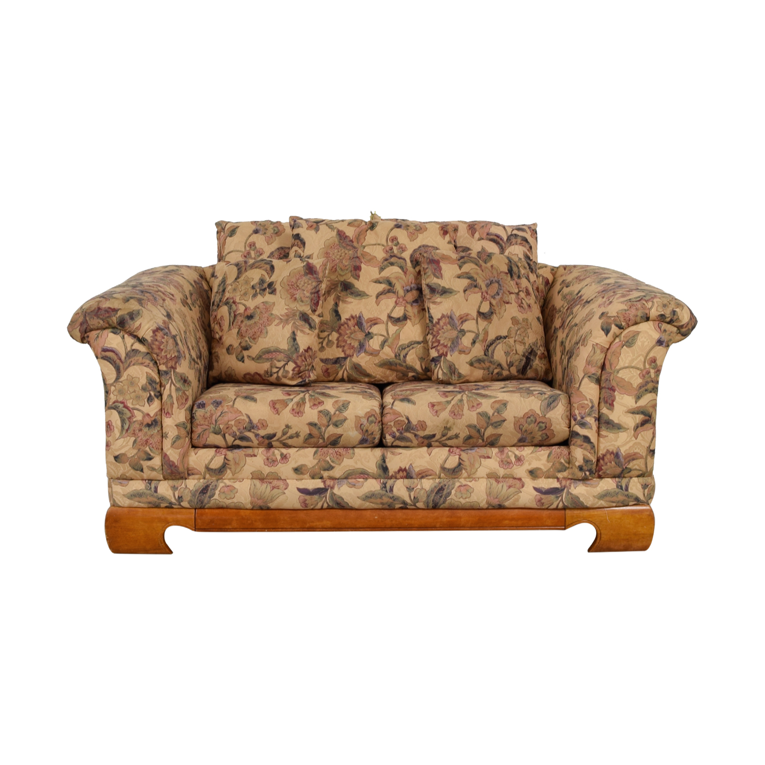 shop Sealy Furniture Floral Two-Cushion Loveseat Sealy Furniture Sofas