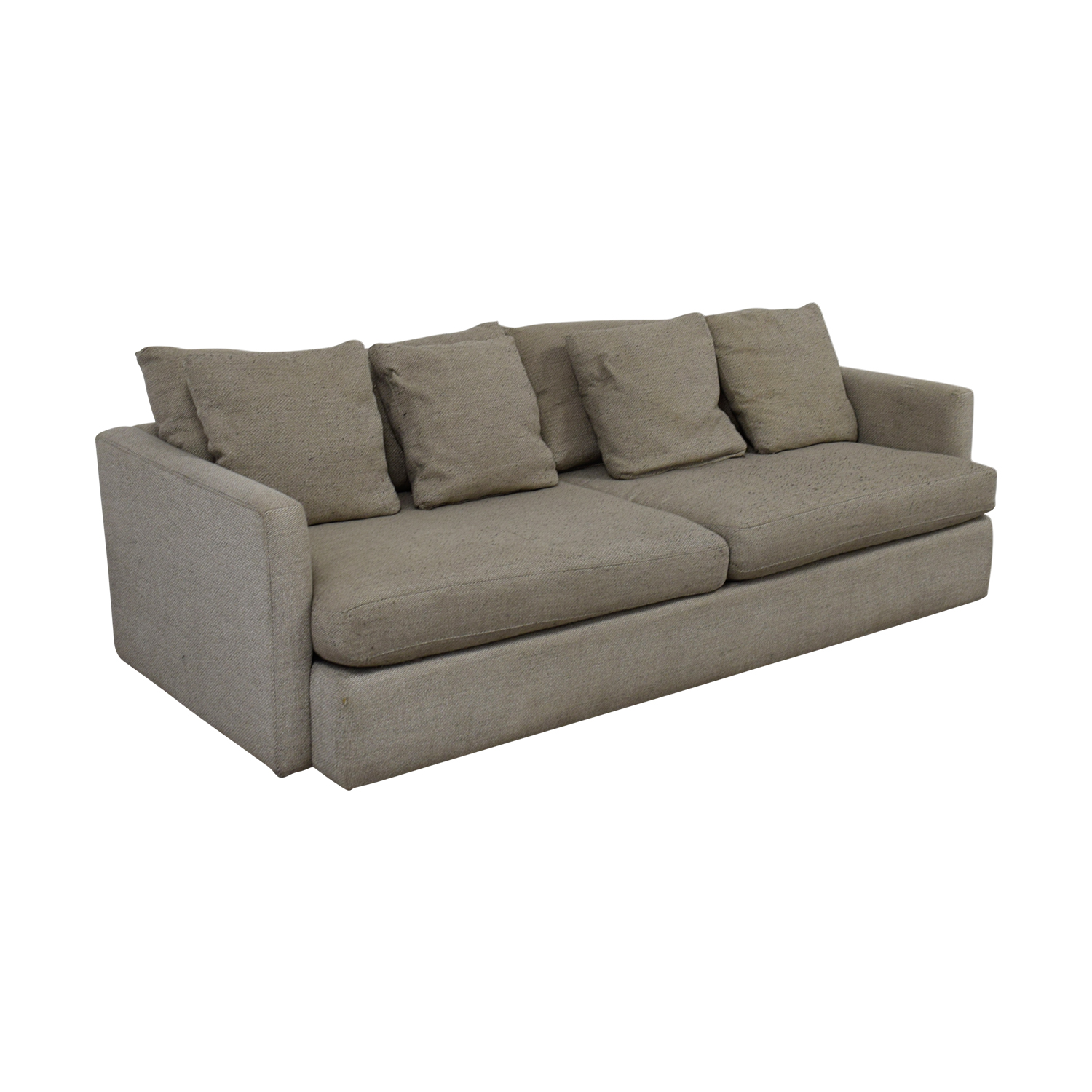 Crate & Barrel Crate & Barrel Cream Two-Cushion Sofa coupon