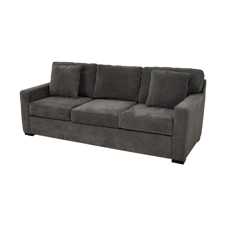 Macys Sofa Sale: Macy's Macy's Radley Grey Three Seater Sofa / Sofas