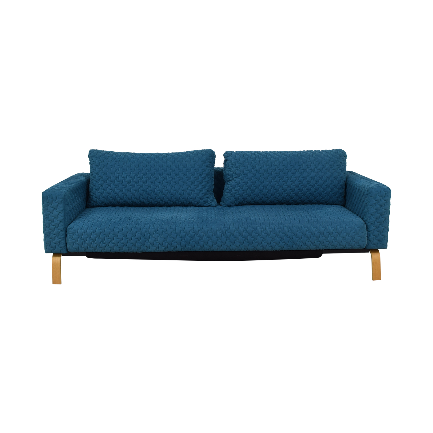 Innovation Living Inc Innovation Living Inc Blue Single Cushion Sleep Sofa nj