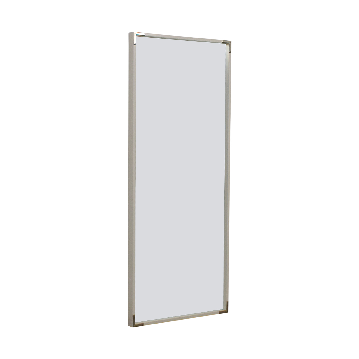 West Elm West Elm White Framed Floor Mirror price