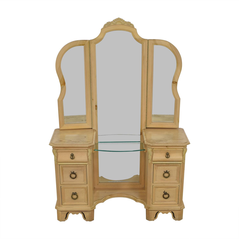shop Lexington Natural Vanity Dresser Lexington
