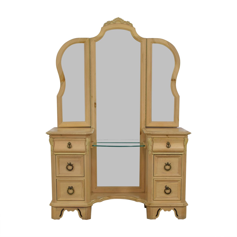 Lexington Furniture Lexington Natural Vanity Dresser pine