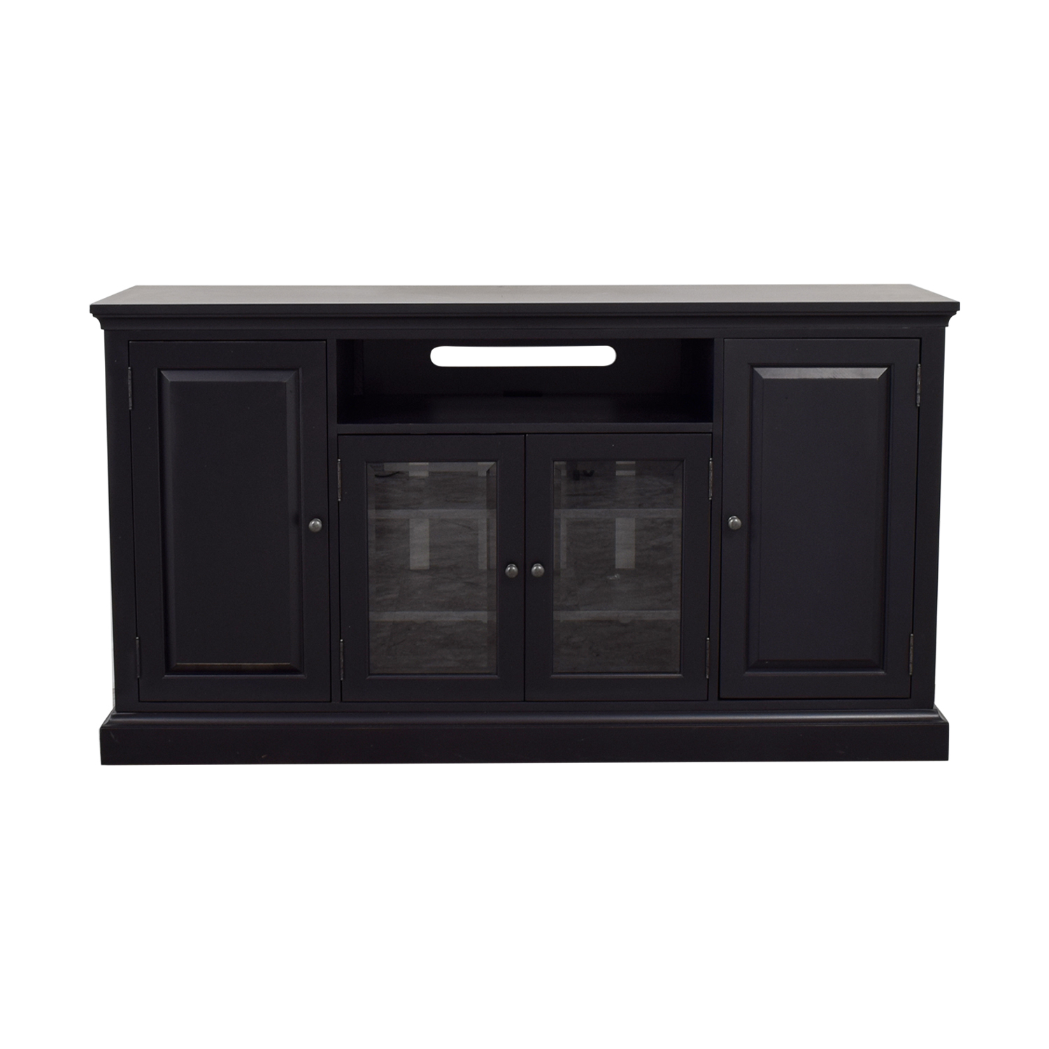 Ethan Allen Ethan Allen Black Media Console coupon