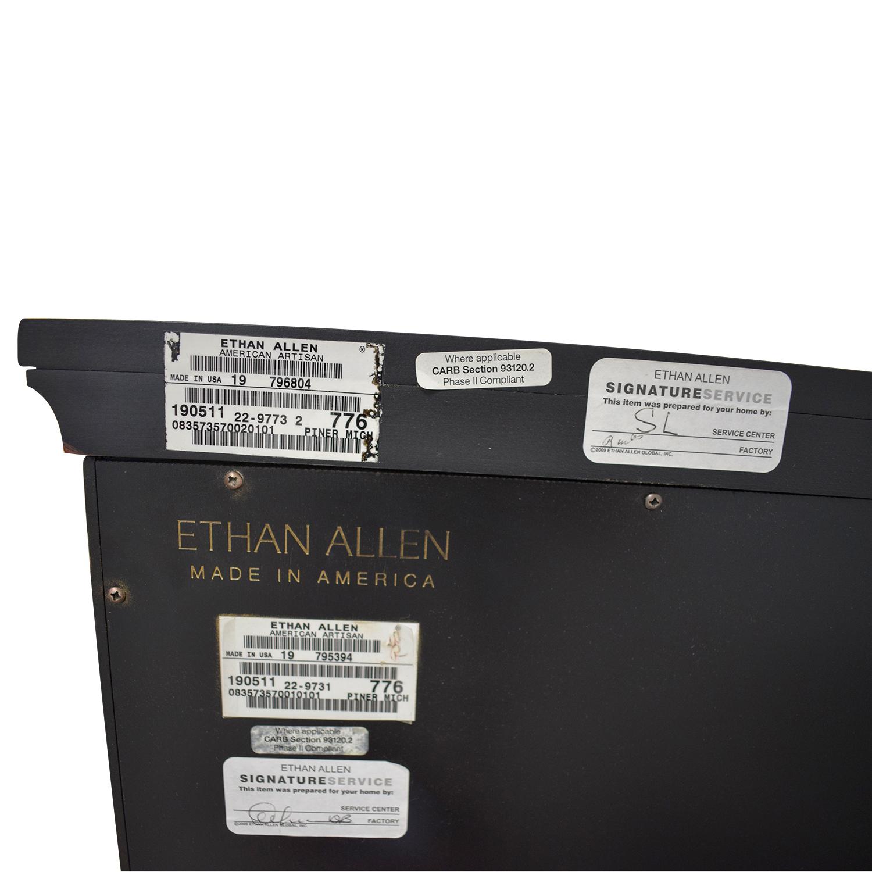 Ethan Allen Ethan Allen Black Media Console used