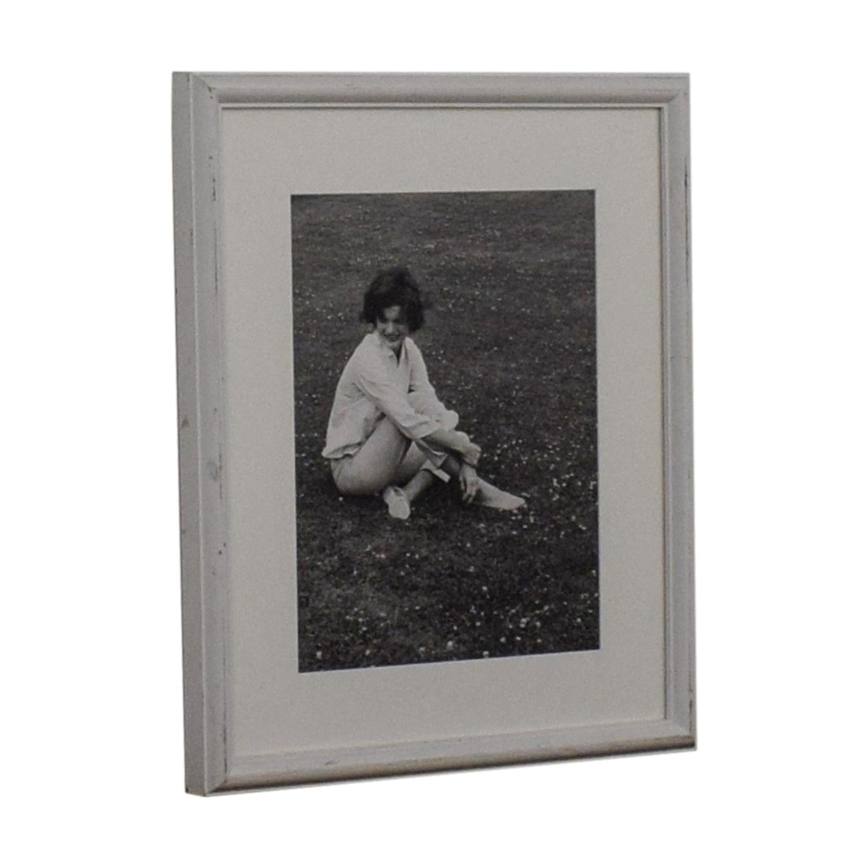 80 off ralph lauren home ralph lauren jacqueline kennedy onassis black and white framed photograph decor