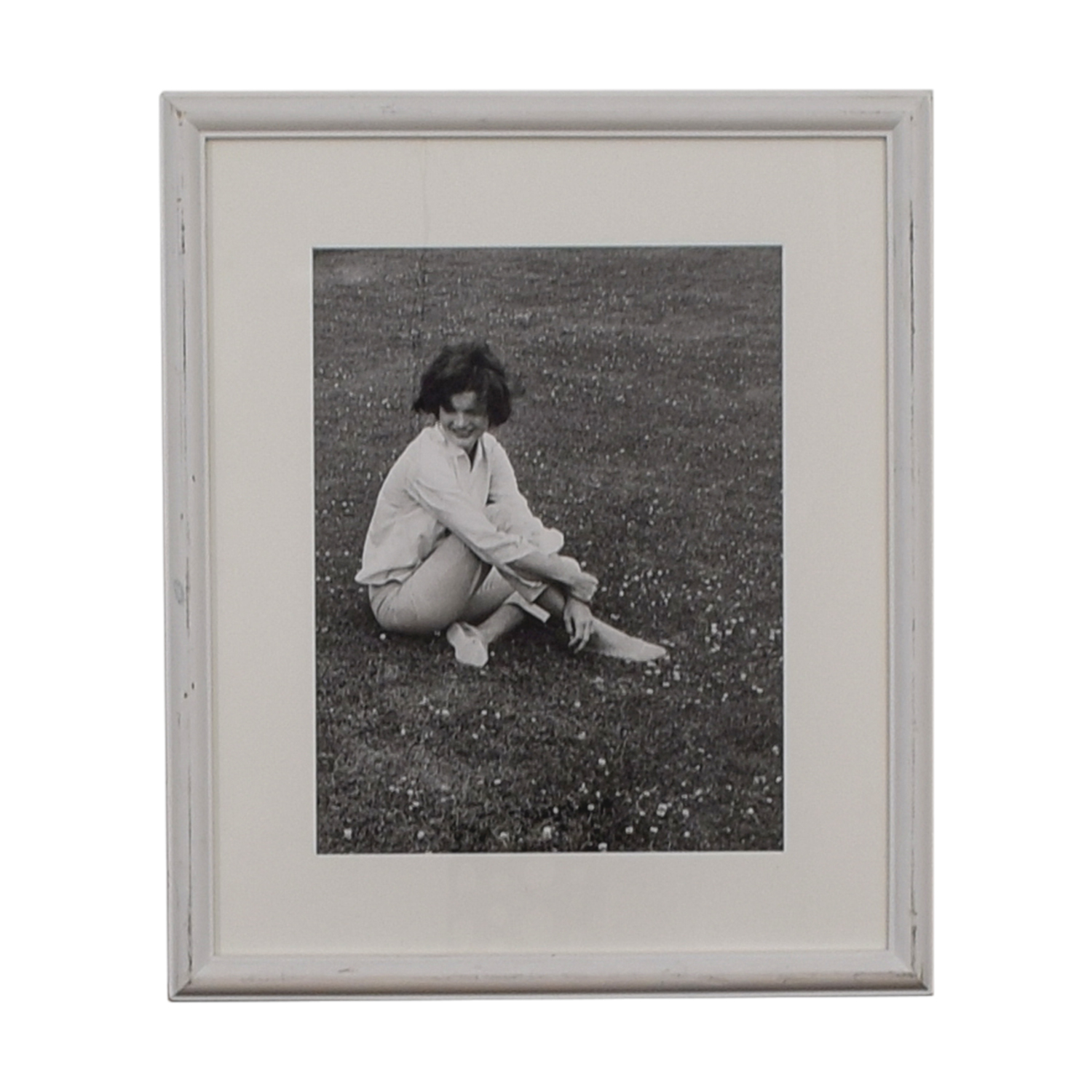 Ralph Lauren Ralph Lauren Jacqueline Kennedy Onassis Black and White Framed Photograph discount